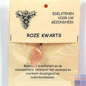 Gezondheidssteen Roze Kwarts