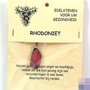 Gezondheidssteen Rhodoniet