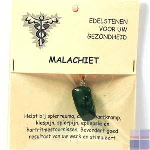 Gezondheidssteen Malachiet