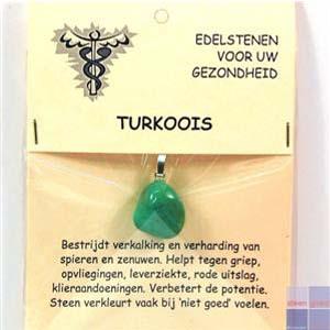 Gezondheidssteen Turkoois