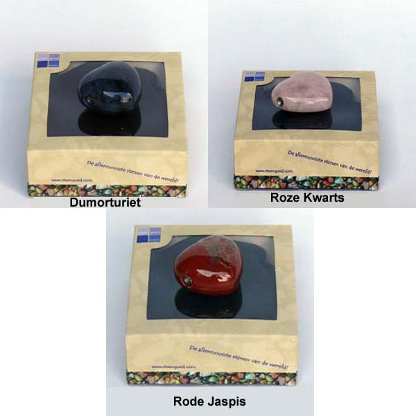 Edel-Gedenksteen Hart Roze Kwarts