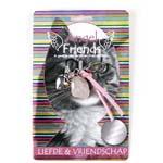Beschermengel Kat<br />Liefde en Vriendschap (Roze Kwarts)