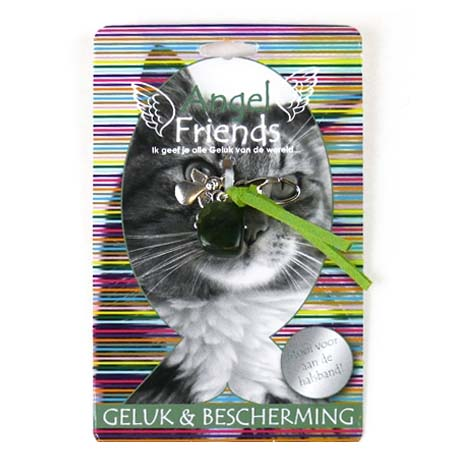 Beschermengel Kat<br />Geluk en Bescherming (Jade)