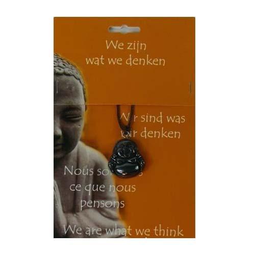 Boeddha Hanger Hematiet