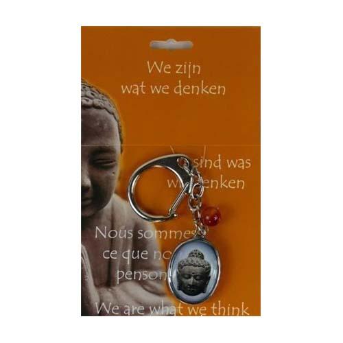 Boeddha Sleutelhanger Hoofd