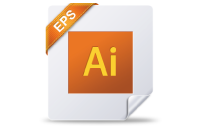 Adobe Illustrator 8.0 of hoger. Graag in het bestandsformaat AI of EPS