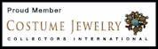 Proud Member of Costume Jewelry Collectors Int'l