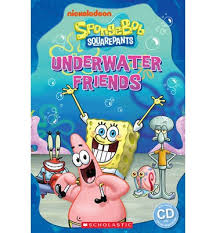 SpongBob Squarepants: Underwater Friends + audio-cd