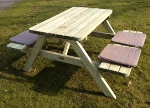 picknicktafel 1.20m