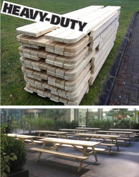 picknicktafels horeca voordeel