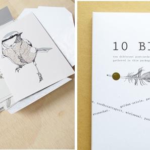 10 Birds kaarten*