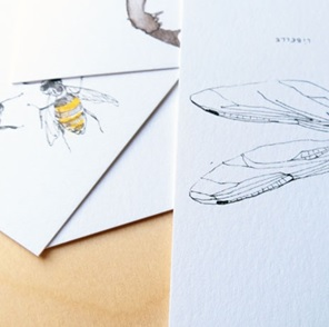 10 Scribbly insects Postcards