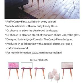 Cotton-Candy bijzettafeltje