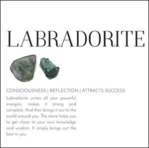 Power armband Labradorite*