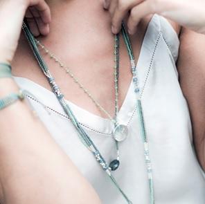 Rosary libelle green ketting*