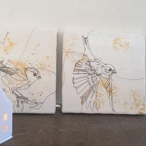 Kunstwerkje Birds 1