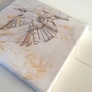 Kunstwerkje Birds 5