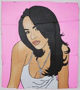 Kunstwerk Aaliyah
