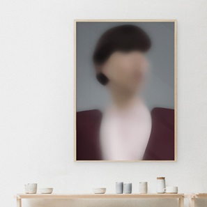 Kunst print Portret D