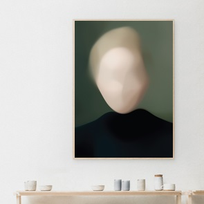 Kunst print Portret G