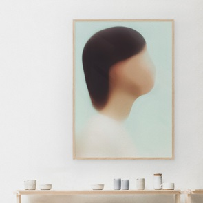 Kunst print Portret T
