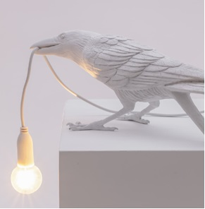 Vogel lamp playing wit