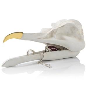 Bird skull houder