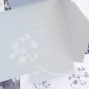 Black&White Flora set van 10*
