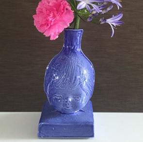 Bloemenmeisje Blauw NIEUW