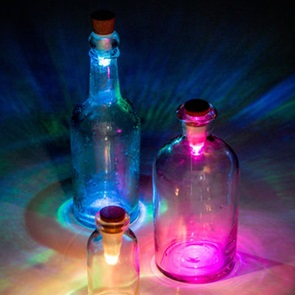 Bottle light kurk colors