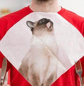 Katten servetten*