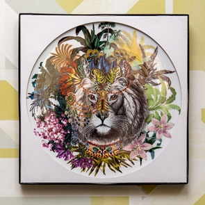 Schaal Jungle King rond