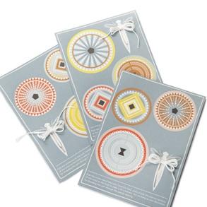 3d Circles set van 9 *