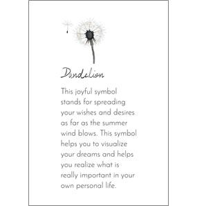 Rosary Long dandelion grey ketting*