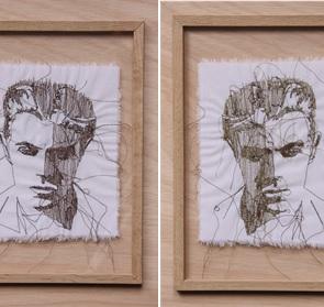 Kunstwerk David Bowie