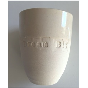 Quote cup white S