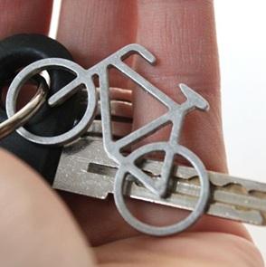 Fiets sleutelhanger*