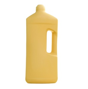 Bottle Vase #3 Warm yellow