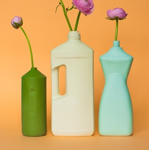 Bottle Vase #2 Green