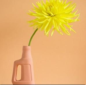 Bottle Vase #9 Orange