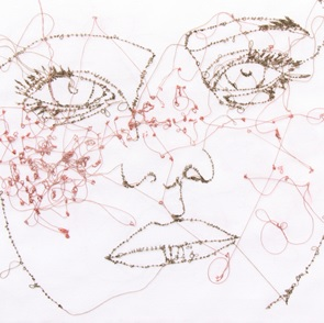 Kunstwerk Freckles Girl