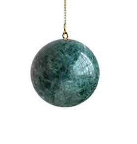 Galaxy globe L green