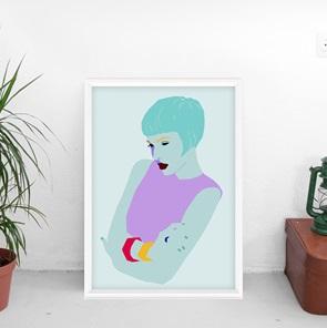 Kunst-print Mood