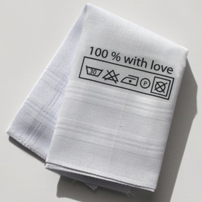 Hanky  100% with love*