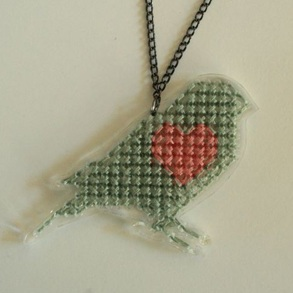 Ketting hart birdie*