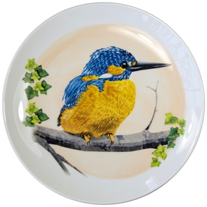 Ijsvogel bord