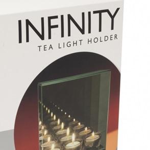 Infinity waxinelicht
