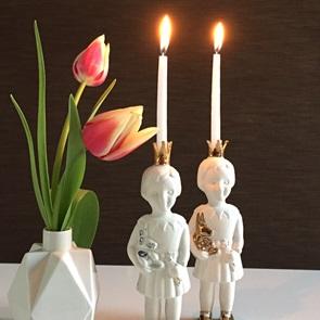 10 mini candles