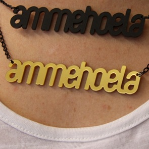 Woordketting Ammehoela goud*