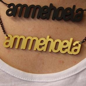Woordketting Ammehoela goud*